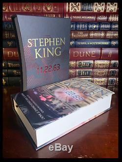 Stephen King 11.22.63 Facsimile Signed Slipcased Limited Hardback Edition 1/700