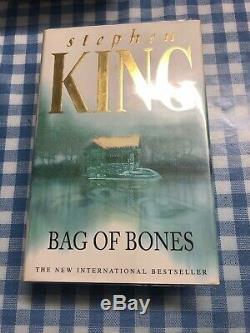 Stephen King Bag Of Bones 1998 UK Signed HBDJ 1998 1st edition