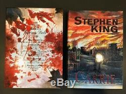 Stephen King, CARRIE Limited Edition, PS Publishing, SIGNED