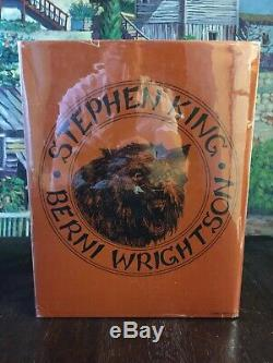 Stephen King Cycle of the Werewolf TRUE First Edition SIGNED INSCRIBED 12/2/83