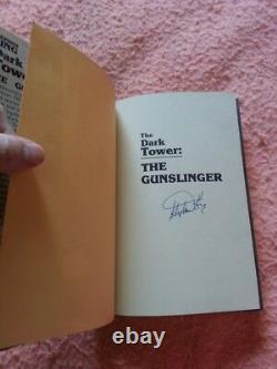 Stephen King, Dark Tower Gunslinger, I thu 7, all 1st/1st hard cover, Signed