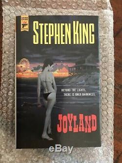 Stephen King Joyland. Signed, Limited Edition Mint