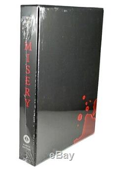 Stephen King MISERY Signed limited gift artist edition Rick Berry SEALED VF