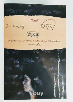 Stephen King & Owen King Sleeping Beauties Limited Edition Signed