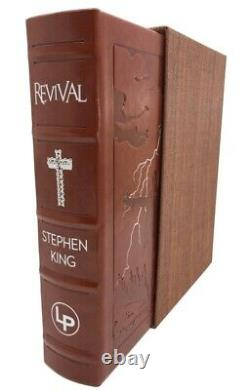 Stephen King REVIVAL Signed Limited Edition Remarqued Glenn Chadbourne New