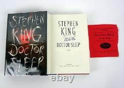 Stephen King Signed Autograph Doctor Sleep Hardcover 1st Edition/1st Print Book