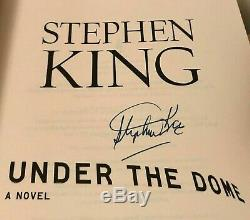 Stephen King Signed Autographed Book Under the Dome (1st ed.)