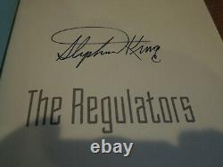 Stephen King THE REGULATORS SIGNED CLEAN COPY WITH SIGNATURE BY KING