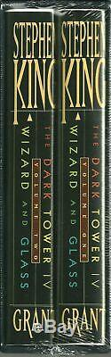 Stephen King The Dark Tower IV Wizard and Glass Signed Limited Edition (Sealed)