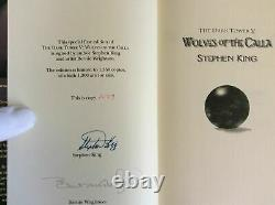 Stephen King The Dark Tower V Wolves Of The Calla Signed Limited #1279