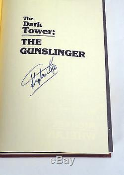 Stephen King The Gunslinger Signed Autograph 1st Edition/1st Printing Book