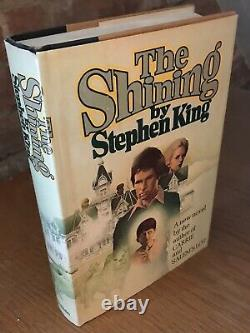 Stephen King, The Shining, 1st Edition, Signed, Books