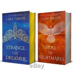 Strange the Dreamer Muse of nightmares Signed Illumicrate Editions Laini Taylor