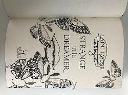 Strange the Dreamer by Laini Taylor (Hardback, 2017) 1st ed, fairyloot signed