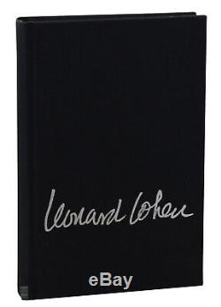 Stranger Music by LEONARD COHEN SIGNED Limited First Edition with 3 Prints 1993