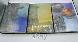 Subterranean Press Signed Books of Babel 1-3 Senlin Ascends Josiah Bancroft