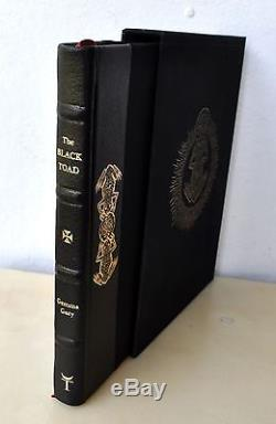 THE BLACK TOAD Deluxe LE/83 Talisman Gemma Gary Witchcraft Grimoire Troy Xoanon