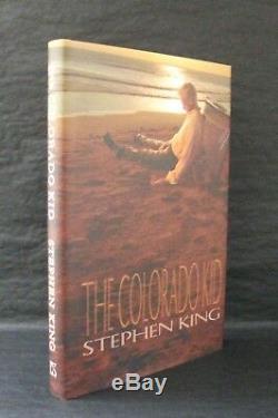 THE COLORADO KID HAVEN Stephen King 3 x SIGNED LTD MATCHING # SLIPCASED SET
