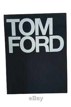 TOM FORD Ten Years of Fashion Cased and Signed Edition Coffee Table Book