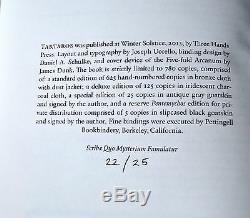 Tartaros Special Ed #22/25 J August Alm Signed THP/Xoanon Orphic Underworld RARE
