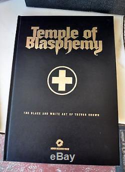 Temple of Blasphemy Trevor Brown Special Art Folder Ed 1/30 Orig Art + 10 Prints