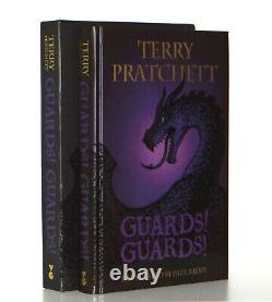 Terry Pratchett Guards! Guards! Discworld Signed Limited Illustrated Hardcover