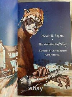 The Architect of Sleep by Steven R. Boyett Hardcover signed Centipede Press