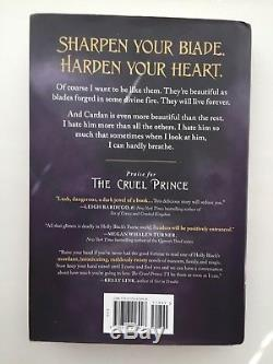 The Cruel Prince by Holly Black Owlcrate Exclusive Cover Hardcover Book Signed