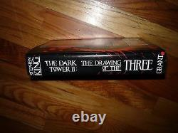 The Dark Tower II The Drawing of the Three 1st Phil Hale Signed