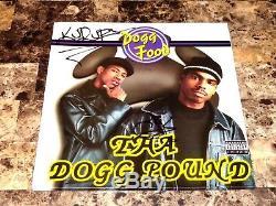 The Dogg Pound Signed Vinyl Record Dogg Food Kurupt & Daz Dillinger Rap Hip Hop