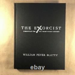 The Exorcist Screenplay by William Peter Blatty (Signed First, Cemetery Dance)