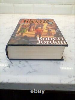 The Fires of Heaven Wheel of Time First Edition & Printing SIGNED Robert Jordan