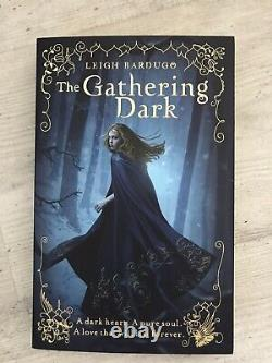 The Gathering Dark by Leigh Bardugo (Paperback, 2012 1st Print, Signed)
