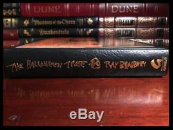 The Halloween Tree SIGNED by RAY BRADBURY New Gauntlet Press Limited 1/750