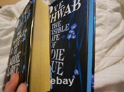The Invisible Life Of Addie La Rue Forbidden Planet And Waterstones Signed