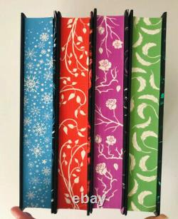 The Iron Fey by Julie Kagawa SIGNED DELUXE Fairyloot 4 Book Set Limited Eds