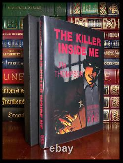 The Killer Inside Me SIGNED by STEPHEN KING Mint Limited Edition Hardback PC
