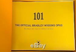 The Official Bradley Wiggins Opus 101 Signed Autograph Book Tour De France 2012