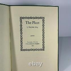 The Plant (Parts 1 and 2) by Stephen King (Signed)