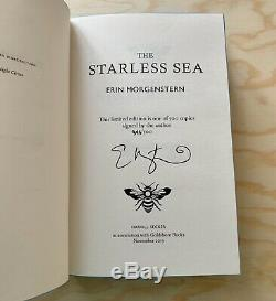 The Starless Sea by Erin Morgenstern Signed & Numbered Limited Goldsboro Edition
