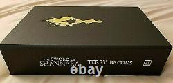 The Sword of Shannara Terry Brooks Signed Lettered PC Grim Oak Press