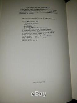 The Wondrous Mushroom Mycolatry in Mesoamerica Gordon Wasson 406/501 (Signed)