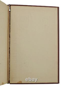 Think and Grow Rich SIGNED by NAPOLEON HILL First Edition 1st Printing 1937