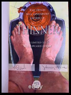 Thinner by Stephen King SIGNED by LES EDWARDS PS Publishing Hardback 1/974