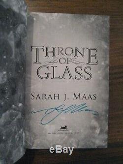 Throne of Glass, Sarah J. Maas, Signed, US True 1st Edition/1st Printing HB
