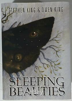 Traycased SLEEPING BEAUTIES Stephen King Owen King Signed 37/850 OOP