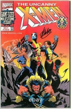 Uncanny X-men #360 Dynamic Forces Variant Signed Stan Lee Df Coa Marvel Movie