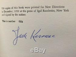 Visions Of Cody SIGNED Limited edition 1/750 copies Signed by Jack Kerouac 1st