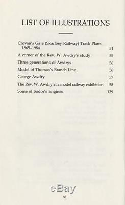 W. Awdry The Island of Sodor, Its People, History & Railways 1987 DOUBLE-SIGNED