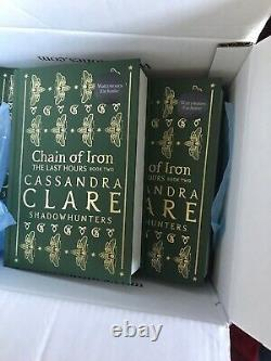 Waterstones Exclusive Signed Chain Of Iron Hardback Cassandra Clare